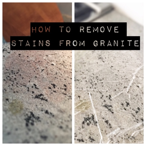 Beau {How To Remove Stains From Granite}