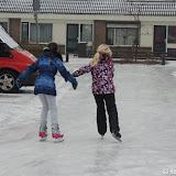 ijspret in de straten van Pekela 2