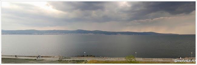 Панорама Святого Власа и Елените. Болгария. 2015