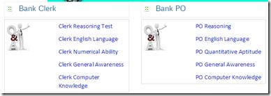 IBPS Clerk PO Online Practice