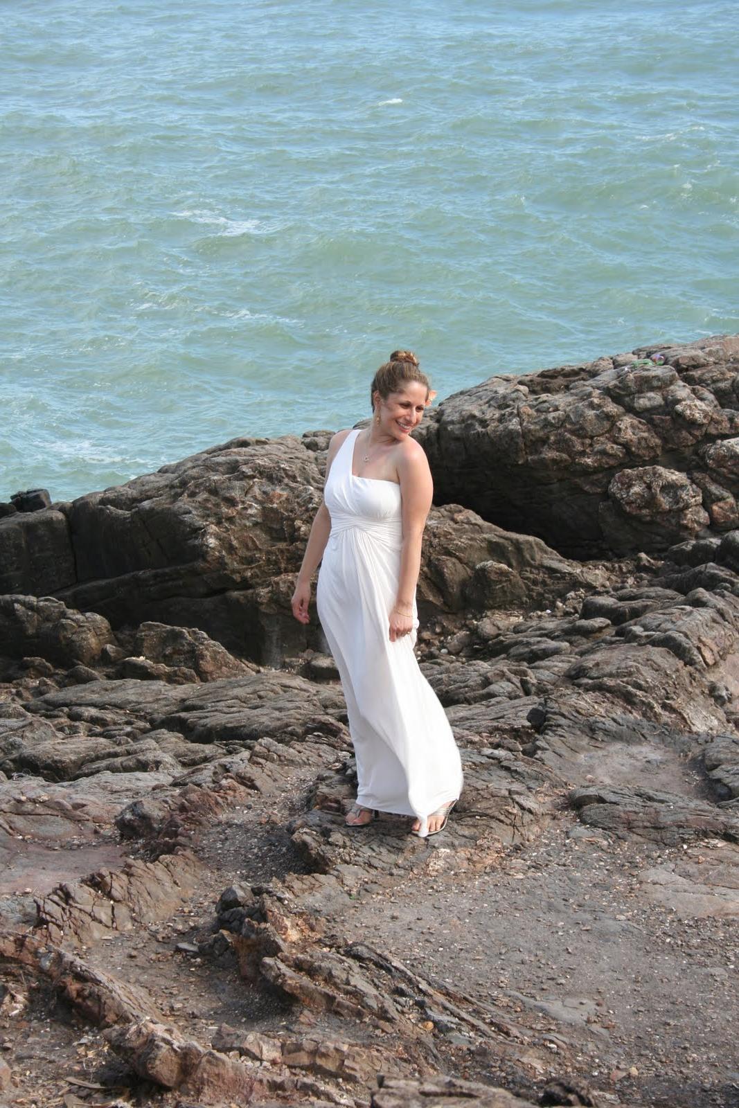 Grecian style wedding