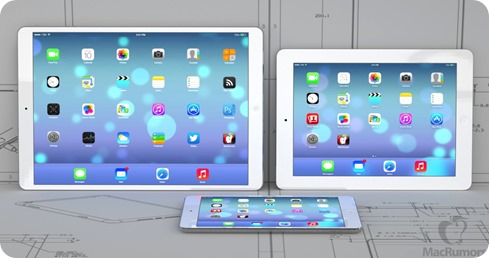 iPad Pro , iPad Air, iPad mini (c) MacRumors