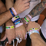 wristband overload at Ultra Japan 2015 in Tokyo, Tokyo, Japan