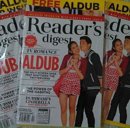 AlDub for Reader's Digest Asia (StanofMaine on Twitter)