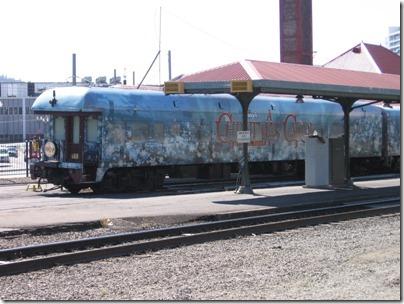 IMG_7661 Christmas Carol Train Car #800702 at Union Station in Portland, Oregon on July 1, 2009