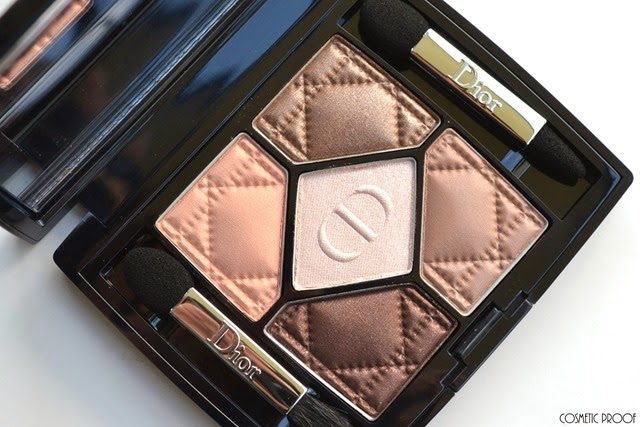 Dior Ambre Nuit 5 Couleurs Eyeshadow Palette Makeup Look Review Swatches (2)