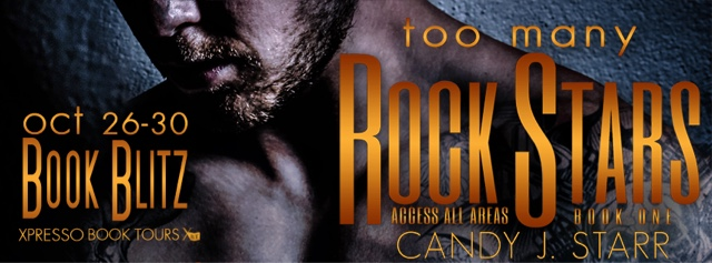 Book Blitz: Too Many Rock Stars by Candy J. Starr