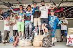 Podium Enduro GIANT Des Dentelles 2014