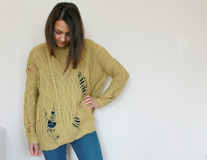 luxemme mustard jumper review