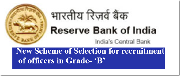 RBI  Grade- 'B' Officers New Pattern syllabus