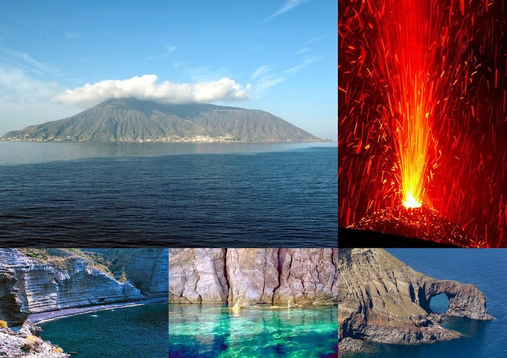 о. Салина и о. Стромболи (Липарские острова). Подождите загрузки картинки!