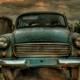 Old car by Petr Germanič - Uncategorized All Uncategorized ( history, car, old, skoda )