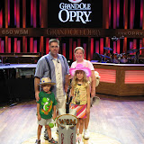 The Freys on the Grand Ole Opry stage in Nashville TN 09032011