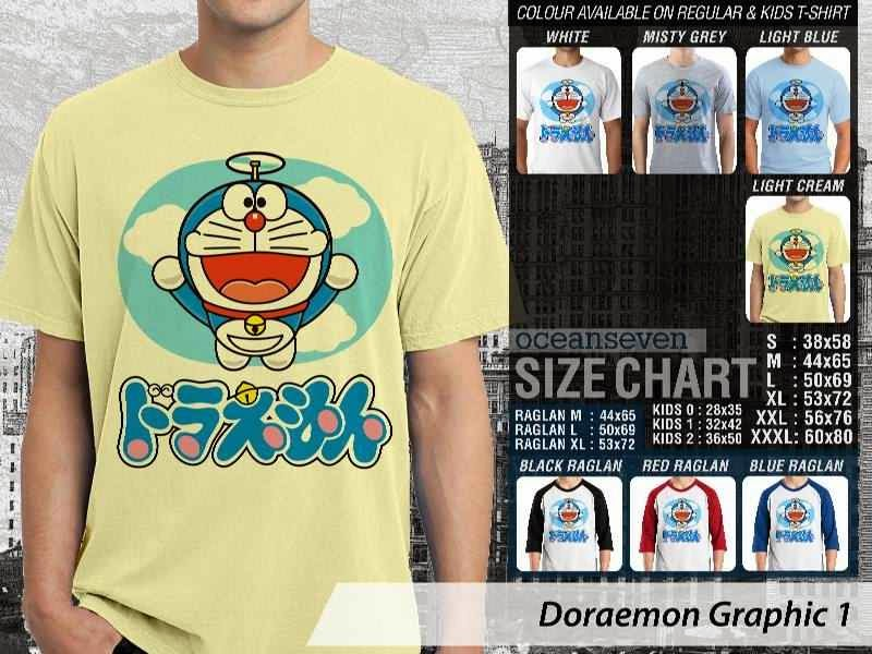 KAOS Doraemon 41 Manga Lucu distro ocean seven