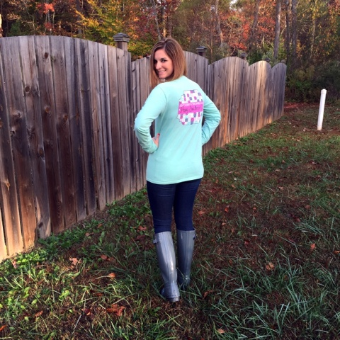 southern girl prep, preppy style, hunter boots