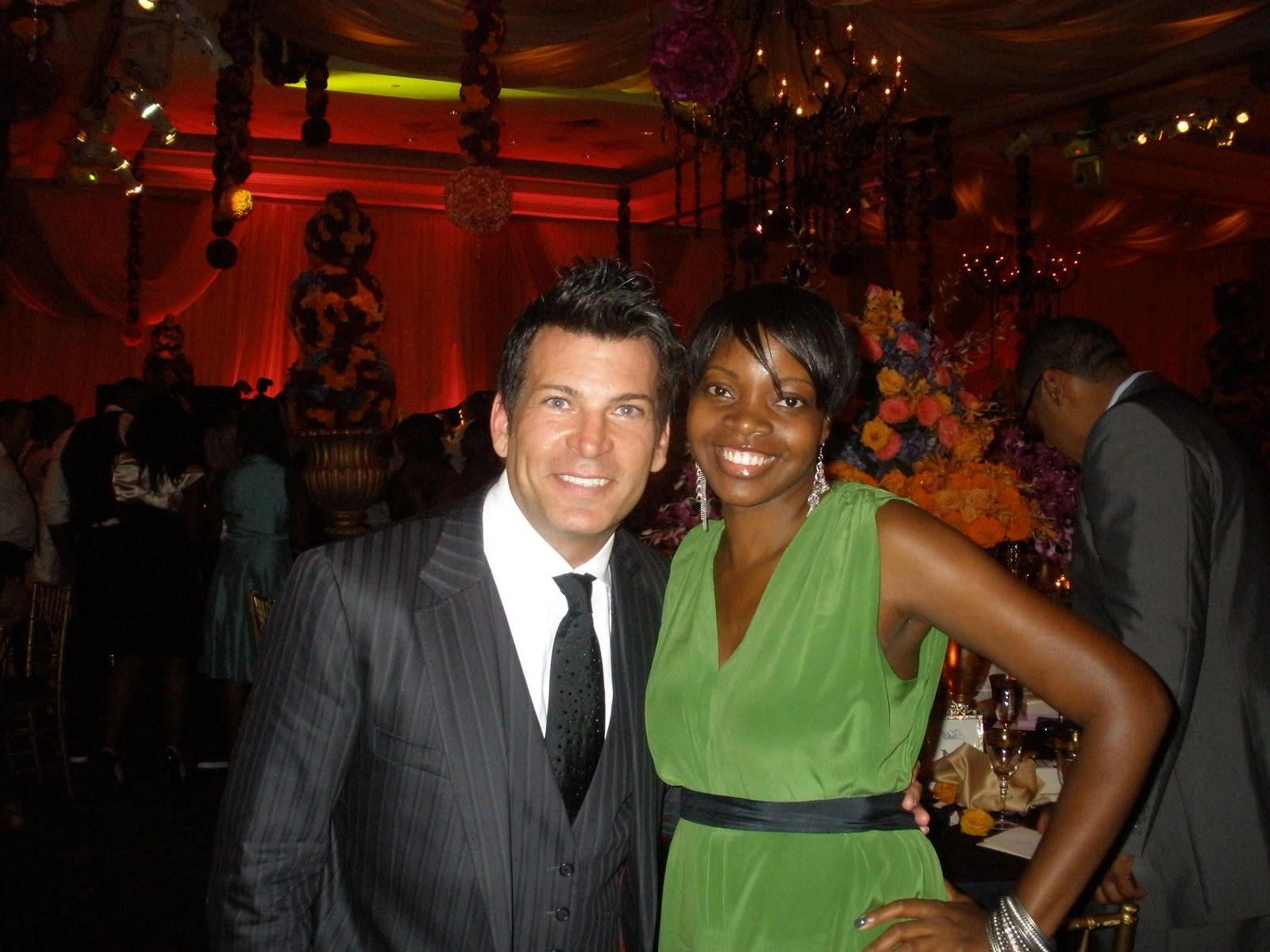 Me & David Tutera during the