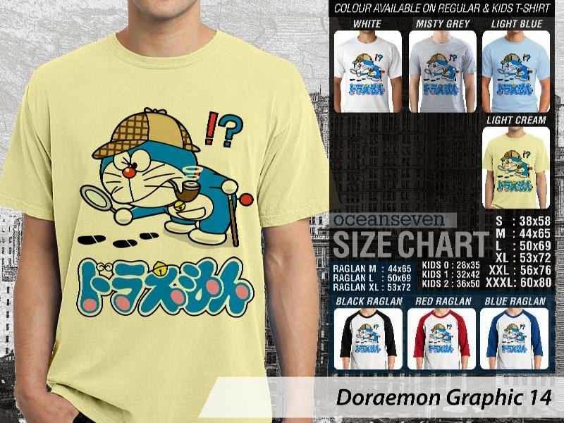KAOS Doraemon 54 Manga Lucu distro ocean seven