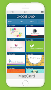 download android app magcards business card design for samsung