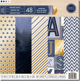 MPP0029 Indigo Gold Cover 12x12.5 HOUTLINES