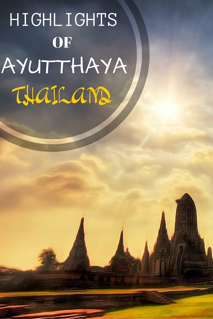 Tips and ideas for visiting Ayutthaya, once the largest city in the world. Includes ideas for temples to visit, how to get around, how to get there, and options for places to stay
