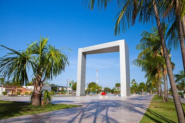 Portal do Milenio - Boa Vista, Roraima, fonte: Alex Uchoa
