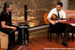 44: Fantástica percusión a cargo de Miguel Ángel Orengo en el concierto de Carlos Piñana... perfecta sinergia.