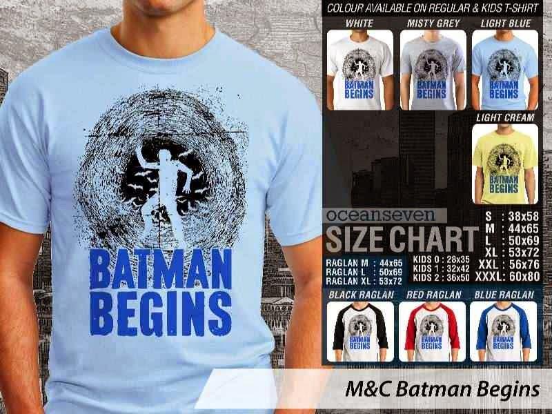 Kaos Movie Batman Begins Film Cinema distro ocean seven