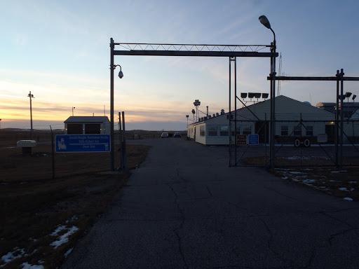 Main gate of Oscar-Zero.