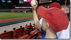 Christain Home run ball