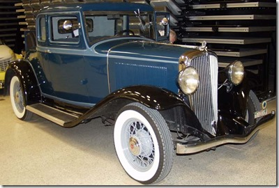 1932 The Rockne Coupe