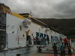 Barco de vuelta rumbo a Tenerife
