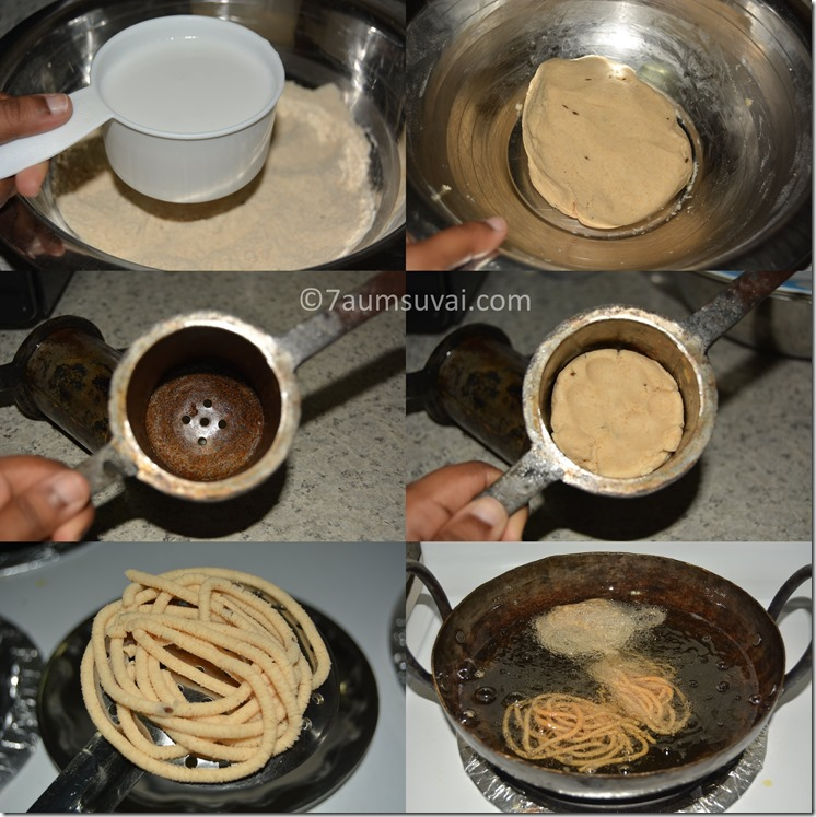 coconut milk murukku