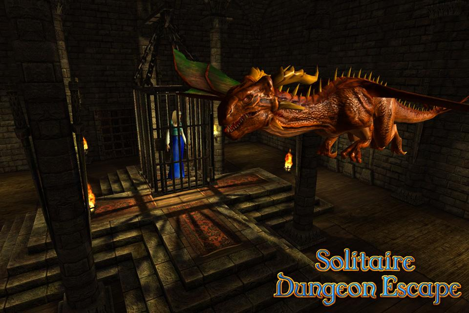 Solitaire Dungeon Escape Screenshot 0