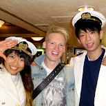 the captains of the ship in Tokyo, Tokyo, Japan
