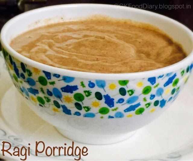 Finger Millet Porridge Recipe