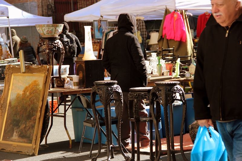 Flea Market i New York