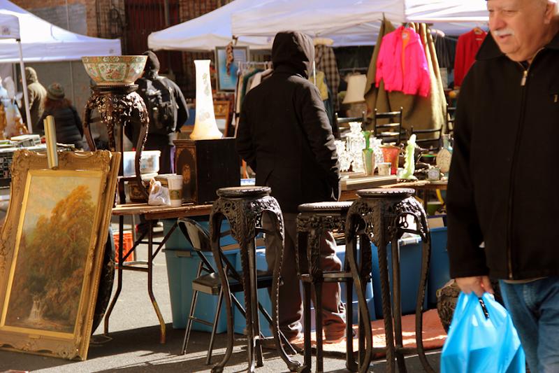 Flea Market i New York