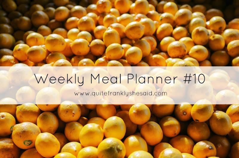 weekly meal planner 10