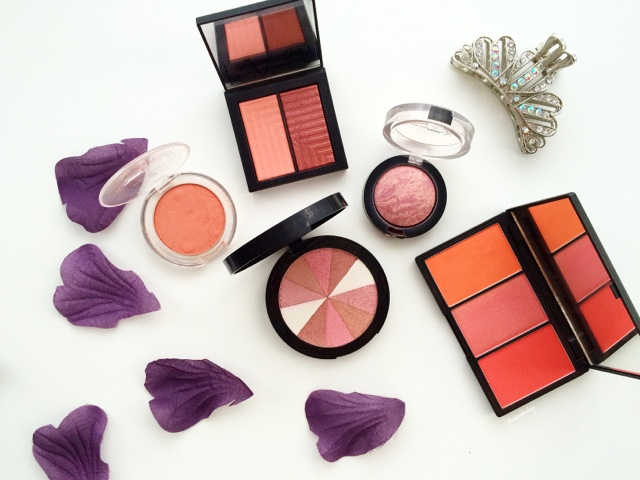 best shimmery blushers for a healthy glow