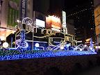 新橋SL広場のクリスマスイルミネーション2011