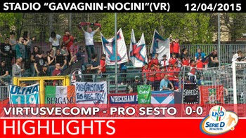 VirtusVecomp - Pro Sesto - Highlights del 12-04-2015