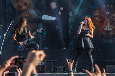 Epica au Hellfest 2015