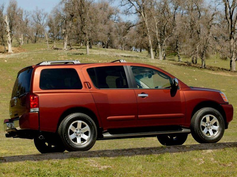 2007 nissan armada suv specifications pictures prices. Black Bedroom Furniture Sets. Home Design Ideas