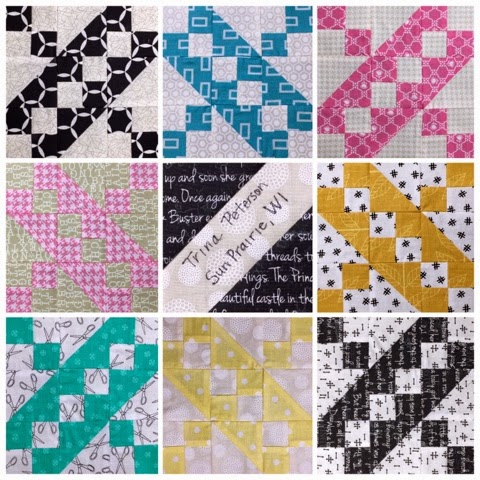 May Stitch Tease Blocks
