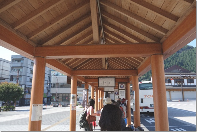 東武日光車站外巴市候車亭