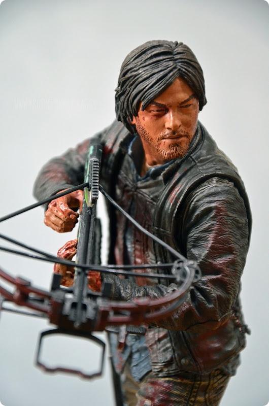 #twd (07) The Walking Dead McFarlane Action Figure Deluxe Daryl Dixon