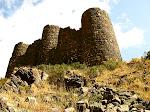 Amberd Fortress on Mt. Aragats, Armenia.