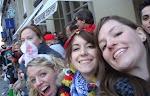 Es macht viel Spaß: Cate O'Malley, Jenni Keating, Mary Holdener und Katie Weltner in Köln.