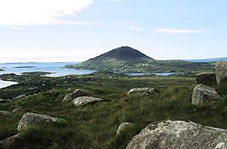 Connemara National Park, Connemara, Southern Ireland.