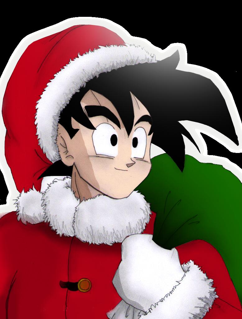 Imagenesde99 imagenes de goku en navidad - Cosas para navidad ...
